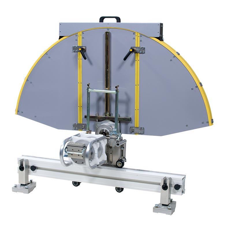 Стенорезная машина Pentruder 6-10 HF / 6-12 HF с защитным кожухом