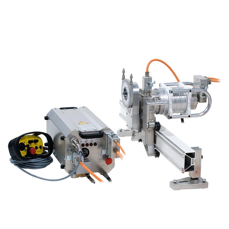 Стенорезная машина Pentruder 6-12HF с блоком управления Pentpak