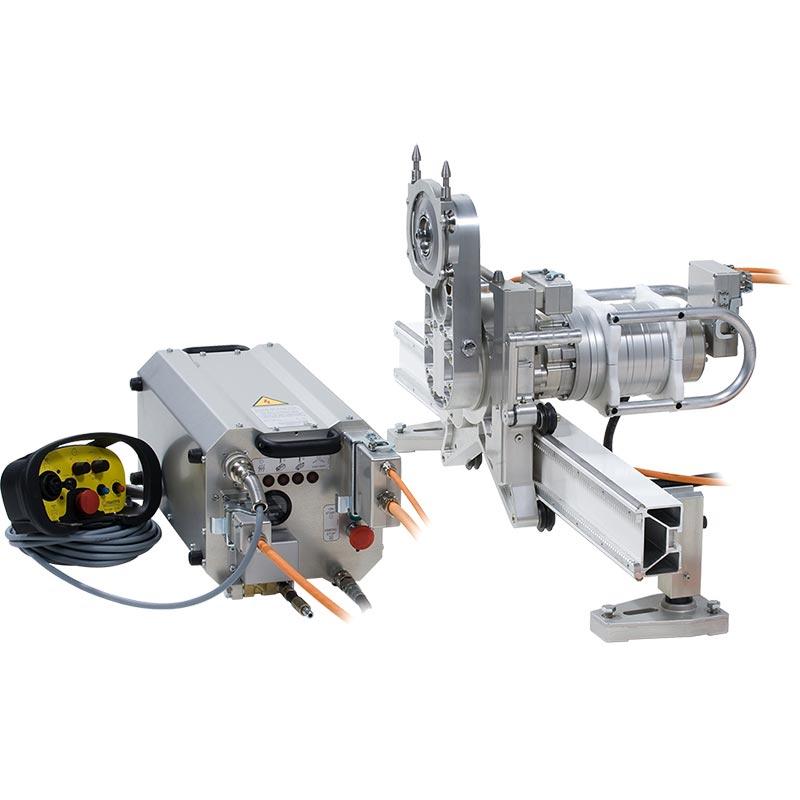 Стенорезная машина Pentruder 8-20HF 8-20iQ с блоком управления Pentpak 427