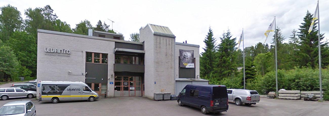 Здание завода Levanto OY