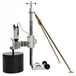 Установка алмазного бурения Pentruder MD1-MDU на 70 мм стойке-колонне с дополнительным задним упором