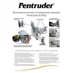 Техническое описание стенорезной машины Pentruder 8-20iQ