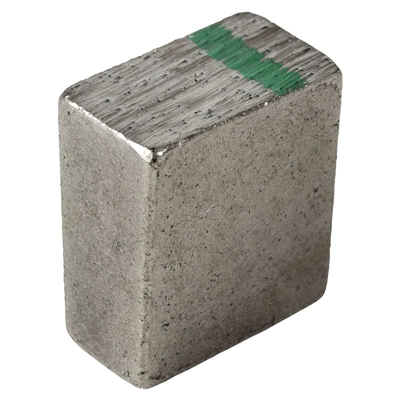 Алмазные сегменты Stinger для резки гранита, конус