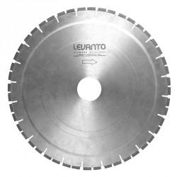 Алмазный диск для резки бетона стенорезной машиной швонарезчиком Levanto Venom